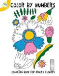 Colour by Numbers Coloring Book for Adults Flowers
