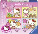 Ravensburger 4 Puzzels - Hello Kitty