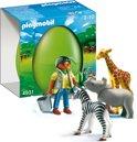 Playmobil Verzorgster Met Babydieren  - 4931