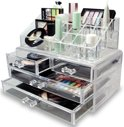 Deluxa Make-Up Organizer - Transparant - Acryl