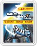 Gillette Mach 3 Turbo - 20 stuks - Scheermesjes