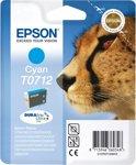 Epson T0712 - Inktcartridge / Cyaan