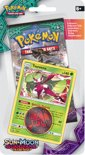 Pokémon Sun & Moon Guardians Rising Checklane Blister Tsareena