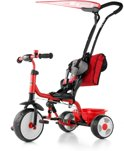 Milly Mally Driewieler de Luxe - Rood