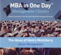 The Ideas of Henry Mintzberg About Management (mp3-download luisterboek, dus geen fysiek boek of CD!)