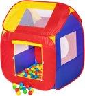 Kindertent speelhuis speeltent ballenbak 200 ballen 400729