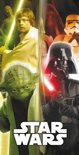 Johntoy Badlaken Star Wars Group Met Yoda 70 X 140 Cm