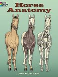 Horse Anatomy Coloring Book