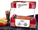 Nostalgia Electrics Hotdog Maker Roller Retro Series RHD800