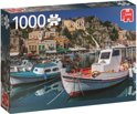 Symi Griekenland Premium Quality - Puzzel 1000 stukjes