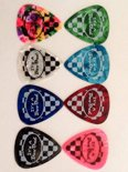 PLECTRUM : DooDad Medium Tortoise Guitar Pick / 0.85mm / 25 pieces/ assorti colours