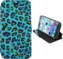 Colorfone PREMIUM Book2 Case/ Hoesje voor de Apple iPhone 6 Turquoise
