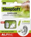 Alpine SleepSoft Slapen Oordoppen Van Zacht Materiaal - 1 paar