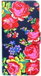 Navy Rose diary case (iPhone 6/6s)