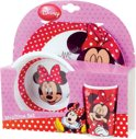 Minnie Mouse ontbijtset 3 delig