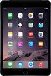 Apple iPad Mini 3 - 4G + WiFi - Zwart/Grijs - 128GB - Tablet