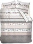 Beddinghouse Fabric Stripes - Dekbedovertrek - Natural - eenpersoons - 140x200/220 cm