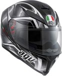AGV K-5 Hurricane Integraalhelm Black/Gunmetal/White-XXL