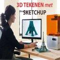 Online cursus Sketchup. Ook lessen over het tekenen voor de 3D printer