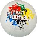 Avento Straatvoetbal - Holland-Brazil-World - Wit/Zwart/Geel/Rood/Blauw - 5