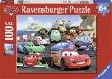 Ravensburger Disney Cars Explosieve race - Puzzel van 100 stukjes