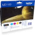 Brother LC-1100VALBP - Inktcartridge / Cyaan / Geel / Magenta / Zwart