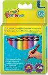 Crayola Mini Kids - 16 Driehoekige waskrijtjes