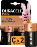 Duracell Plus Power C batterijen - 2 stuks