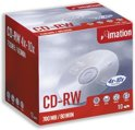 Imation CD-RW 80min/700 MB 10 stuks in jewelcase