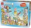 Comic Time Square - Puzzel - 1000 Stukjes