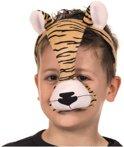 Masker tijger met geluid - dieren masker