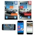 Auto Rijbewijs B Theorieboek - Theorieboek + Oefenboek + Smartphone Examens Android Apple 2017