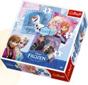 frozen puzzel 3 in 1