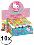 10x Hello Kitty bellenblaas