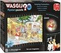 Wasgij Mystery 6 Onrust op de Camping - Puzzel - 1000 stukjes