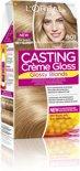 L'Oréal Paris Casting Crème Gloss 801 - licht natuurlijk asblond -Haarverf