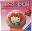 Ravensburger Puzzle ball hello kitty hartje 7cm