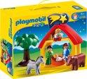 Playmobil 123 Kerststal - 6786