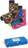 Happy Socks - Gift Box 4-pack Sokken, Forest, Maat 41/46
