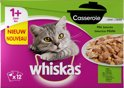Whiskas Casserole - Adult - Mix - Selection in Gelei - 4 x (12 x 85) gr
