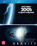 Gravity & 2001: A Space Odyssey (Blu-ray)