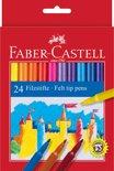 viltstiften Faber Castell 24 stuks karton etui
