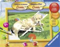 Ravensburger schilderen op nummer Golden retriever