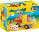 Playmobil 123 Vrachtwagen met laadklep- 6960