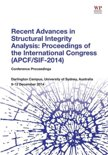 Recent Advances in Structural Integrity Analysis - Proceedings of the International Congress