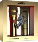 The Voice Gold Edition 250 ml - Geurengeschenkset - for Women