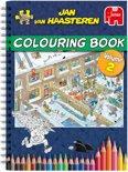 Jan van Haasteren Kleurboek - Kleurboek voor Volwassenen Vol.2