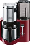 Siemens TC86504 AromaSensePlus- Koffiezetapparaat - Rood