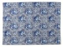 At Home with Marieke Denim Placemat - 50 x 35 cm - Blauw