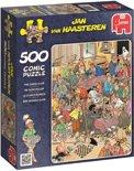 Jan van Haasteren De Schaakclub - Puzzel 500 stukjes